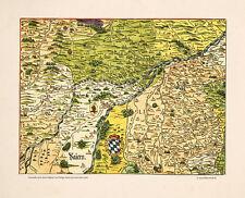 Die Gegend um Freising Erding Moosburg Landshut Weihenstephan Eching Apian 14