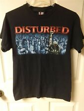 Vintage Disturbed - Sickness Tour Band Graphic T-Shirt Men's Small by Giant