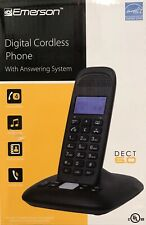 NEW Emerson Expandable Digital Cordless Phone Handset DECT 6.0 answering system