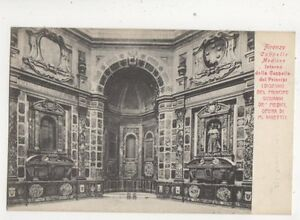 Firenze Cappello Medicee Italy Vintage U/B Postcard 375b
