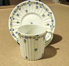 """Vintage Royal Limoges France Demitasse Cup & Saucer """"Saint Germain"""""""