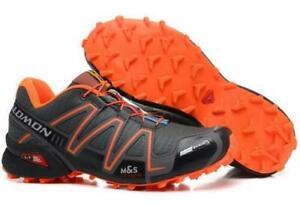 Luxuries Solomon Speedcross 3 Men's Sneakers Outdoor sport non-slip Hiking Shoes