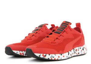 PUMA NRGY NEKO SKIM Men 8.5 Multi High Risk Red  Sneaker