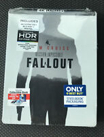 MISSION: IMPOSSIBLE FALLOUT 4K STEELBOOK (4K UHD + Blu-Ray + Digital Copy)