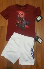 Nike LeBron James Youth   2PC Outfit, Dri-fit Shirt & Shorts  Boys size 5,  NWT