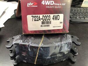 PBR 7122A-D203 heavy duty 4wd Brake Pad Set AMC,EAGLE & JEEP
