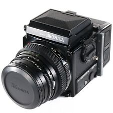Zenza Bronica ETRSi with Zenzanon EII 75mm, Waist Llevel Finder, 120 Back, Crank