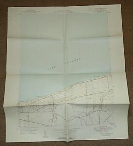 1949 SIXMILE CREEK N.Y. QUADRANGLE MAP - NEW YORK USA