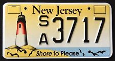 "NEW JERSEY "" LIGHTHOUSE - SHORE TO PLEASE - BIRDS "" NJ Specialty License Plate"