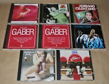 CD Compact Disc - Musica italiana - Gaber, Celentano, Pooh, Concato, Don Backy