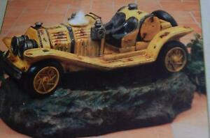 """Mission Gallery 28.4"""" Lighted Resin Antique Car Water Fountain #2249510 NIB"""