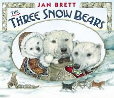 Three Snow Bears by Jan Brett c2013 NEW Lap-sized Board Book We Combine Shipping