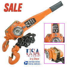 SALE!Lever Block Hoist Chain Ratchet Puller 1.5T Lift 3000LB Safe AUTO Operating
