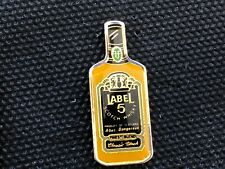 PINS PIN ENAMEL WHISKY WHISKEY LABEL 5