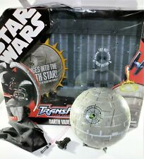 Star Wars Transformers Darth Vader / Death Star Action Figure by Hasbro