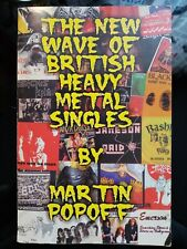 Martin Popoff - The New Wave Of British Heavy Metal Singles ULTRA RARE OUT OF PR