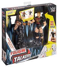 WWE Tough Talkers Roman Reigns & Triple H Wrestling Action Figure 2 Pack
