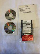 Microsoft Windows NT 4.0 Workstation Operating System Free shipping