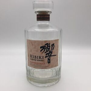 Suntory Whiskey HIBIKI Vintage Empty Rare Bottle from Japan Without Box Item3
