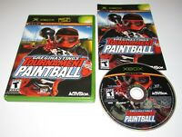 Greg Hastings' Tournament Paintball for Xbox Complete Fast Shipping!