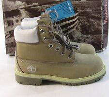 Timberland Jeunes Cuir Brun Cheville Chaussures de Randonnée 13.5C