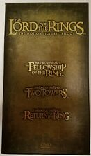 Lord of the Rings: The Motion Picture Trilogy (DVD, 2004, 12-Disc Set, Extended