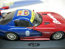 1/32 FLY VIPER GTS-R #8 BARCELONA FOOTBALL CLUB LIMITED EDITION SLOT CAR-RARE