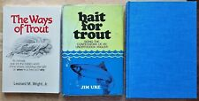Trout Fishing - Vintage Book Lot
