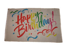 3x5 Advertising Happy Birthday Flying Colors flag 3'x5' house banner grommets