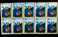 1990 Bowman LARRY WALKER RC ~ 10 CARDS LOT ~ ROOKIE CARD ~ HALL 0F FAME INDUCTEE