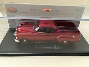 1/43 Trax TRR71 1951 Chevrolet Ute – Burgundy Red