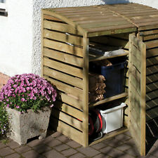 Recycling Box Store / Bin Store