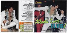 ELVIS PRESLEY - Atlanta Loves Elvis - 2 CD Set RARE