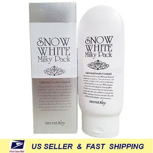 [ Secret key ] Snow White Milky Pack 200g ++NEW Fresh++