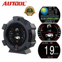 GPS Inclinometer Angle Tilt Slope Meter Indicator Speedometer MPH KMH Gauge