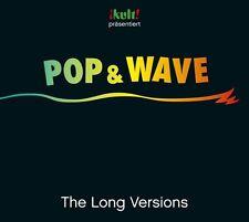 POP & WAVE - THE LONG VERSIONS  3 CD NEU