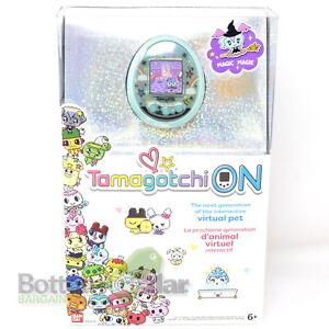 "Tamagotchi On 42830 1.5"" Virtual Pet Toy Magic Green"