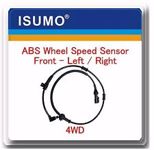 1 Kit ABS Wheel Speed Sensor Front Left or Right Fits: Excursion  Series F 4WD