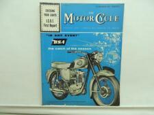 Sept 1960 The Motorcycle Magazine BSA Norton Triumph BMW AJS Matchless L11731