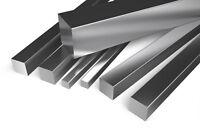 Aluminium Square Bar - Many sizes and lengths - Aluminum Multi Variation