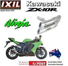 Kawasaki ZX10R ZX 10 R Ninja 2008-2009-2010  IXIL L2X Dual Hyperlow Exhaust