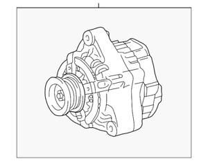Genuine Toyota Alternator 27060-0F020-84