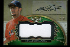 2013 TOPPS TRIPLE THREADS NOMAR GARCIAPARRA AUTO JERSEY 15/50