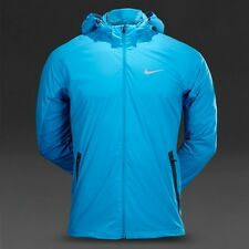NIKE DRI-FIT SHIELD LIGHT MEN'S JACKET [LARGE] 642360-413 LT BLUE LACQUER