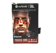 Yurbuds JBL Focus 500 In-Ear Wireless Sport Headphones - Black [LN]™