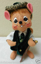 """Annalee 2006 MWT 6"""" """"SEAN O' MOUSE"""" Open Eyes Closed Smile wTooth #171106"""