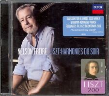 LISZT - Piano Music / Harmonies Du Soir / 6 Consolations - Nelson FREIRE - Decca
