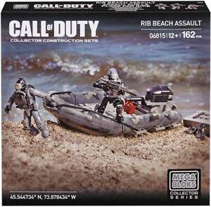MEGA BLOCKS 06815 / CALL OF DUTY 06815 / RIB BEACH ASSAULT NEW MISB LEGO COMP