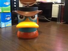 Disney Live Phineas And Ferb Perry Platypus 3D Drinking Cup Mug With Lid