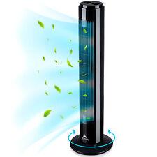 RETOURE Turmventilator 76 cm Standventilator Säulenventilator Ventilator Timer
